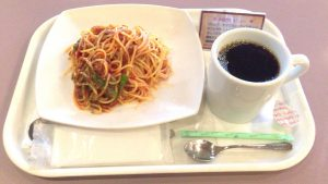 Pasta set at PenCafe_in_Nasu