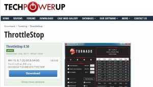ThrottleStop download web